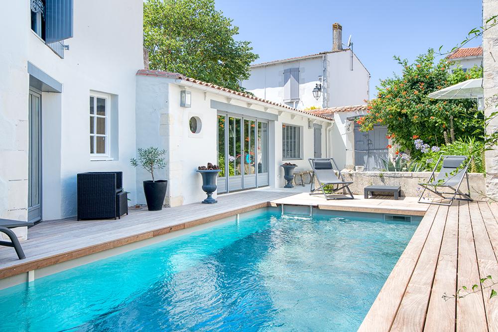 Villa et piscine